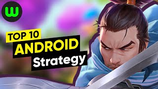 Top 10 Best Android Strategy Games of 2019-2020