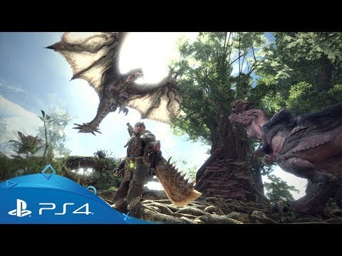Monster Hunter: World | Premieră mondială | PS4