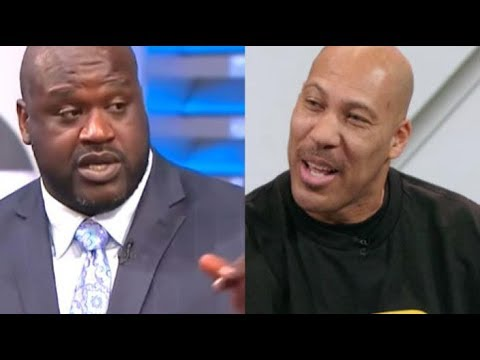 Lavar Ball Challenges Shaquille O'Neal