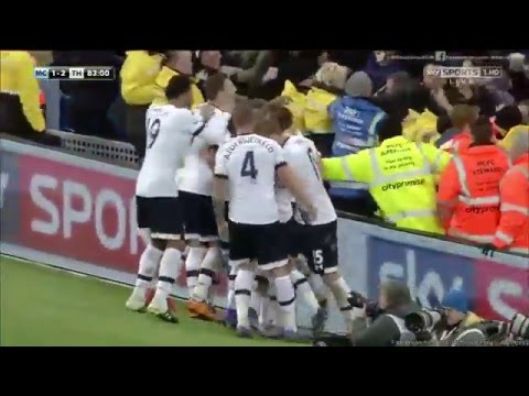 Manchester City 1-2 Tottenham (14/02/2016)