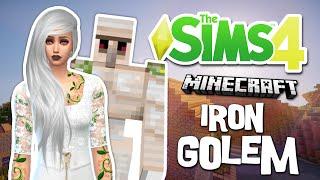 The Sims 4 - Minecraft Iron Golem - (Create-A-Sim)