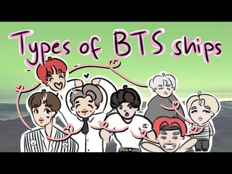 Types of BTS ships | BTS animation