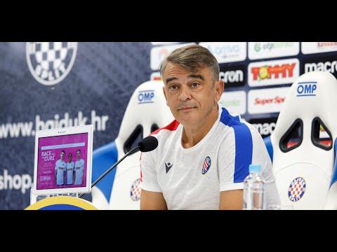 Trener Burić uoči Hajduk - Inter-Zaprešić