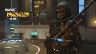 Ana giving Reaper POTG + putting Tracer too sleep.