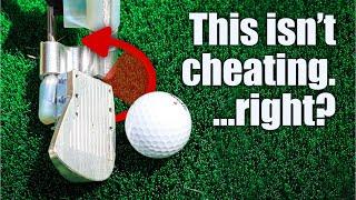 I made a self correcting golf club