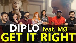 Group Reaction - Diplo - Get it Right