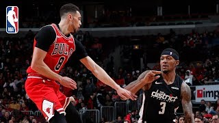 Wizards vs Bulls | Full Game Recap: Bradley Beal & Zach LaVine Duel In Chicago