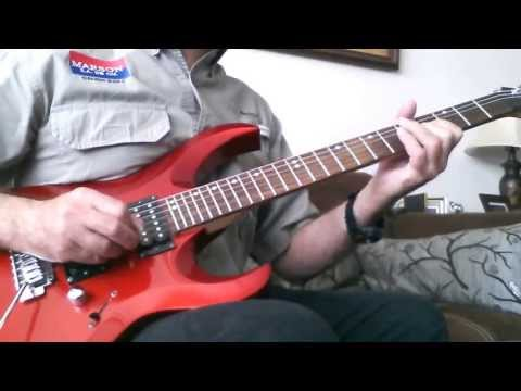 Demo Cort X-2 2009 electric guitar Made in Indonesia & Roland Cube 80XL