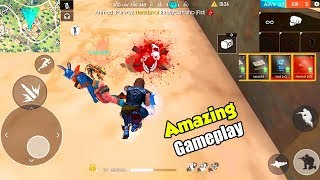 Garena Free Fire Ranked Match Gameplay | Beware Of My Fist - Free Fire | P.K. GAMERS