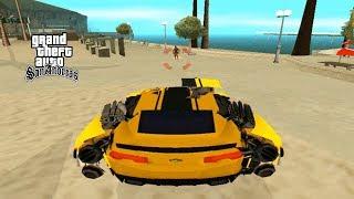 Mobil Robot Transformer Keren Bisa Berubah - GTA San Andreas