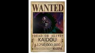 One Piece wanted posters 2016 (future)