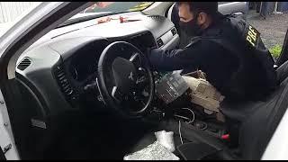 PRF prende traficante com seis quilos skunk e haxixe na BR 392, em Rio Grande