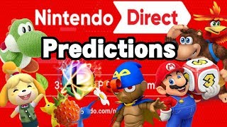 Nintendo Direct 9.13.18 Predictions!