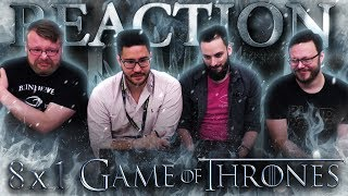 Game of Thrones 8x1 REACTION!!