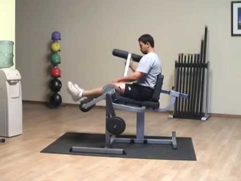 Body Solid GCEC340 - Leg Extension & Curl