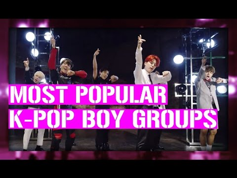 [TOP 27] MOST POPULAR K-POP BOY GROUPS ON YOUTUBE (2016)