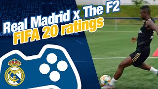 Real Madrid x The F2   FIFA 20 ratings reveal and passing drill!