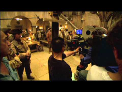 Pirates of the Caribbean: Dead Man's Chest: Behind The Scenes Production Broll Part 1 of 3, Pirates of the Caribbean: Dead Man's Chest: Behind The Scenes Production Broll Part 1 of 3