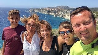 Overflying Corsica in motorhome