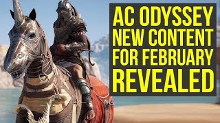 Assassin's Creed Odyssey New Game Plus, Level Cap Upgrade & More Coming In February (AC Odyssey)
