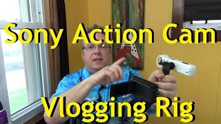 Sony Action Cam YouTube Vlog rig