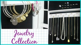 MY JEWELRY COLLECTION & JEWELRY ARMOIRE TOUR | Allie Young