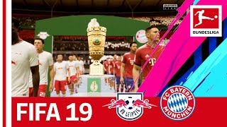 RB Leipzig vs. FC Bayern München - Who Will Win The DFB Cup? - FIFA 19 Prediction With EA Sports
