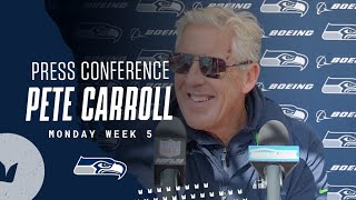 Pete Carroll Seahawks Monday Press Conference - October 11