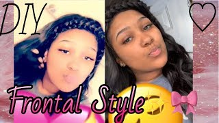 How To: Style Your Frontal✨🌸