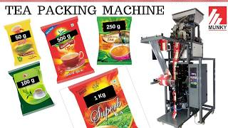 Tea Packing Machine - 25g to 1kg packing