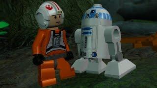 LEGO Star Wars: The Complete Saga Walkthrough Part 23 - Dagobah (Episode V)