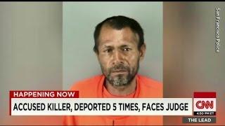 Accused undocumented immigrant killer faces judge