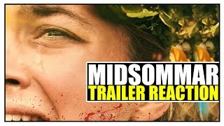 MIDSOMMAR Official Trailer REACTION!