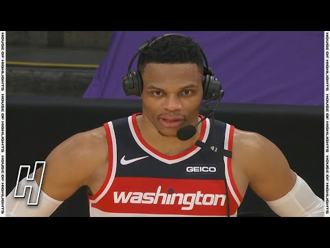 Russell Westbrook Postgame Interview - Wizards vs Lakers | February 22, 2021