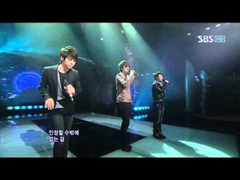 SM THE BALLAD - Hot times (에스엠 더 발라드 - 핫 타임) @ SBS Inkigayo 인기가요 101212