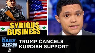 Trump Withdraws Troops from Syria   The Daily Show