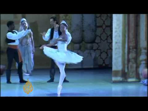 African ballerina beats the odds