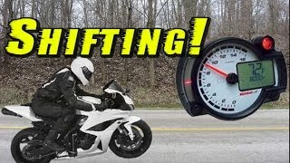 Motorcycle Shifting - Shift By Feel - Fuel Efficient Shifting - My Shifting Technique