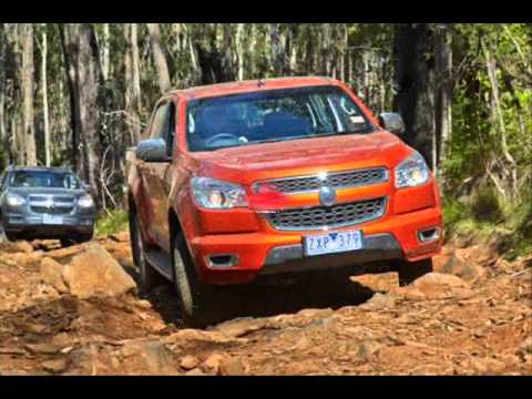 All New 2014 Holden Colorado 2.8-liter Duramax 2 - YouTube