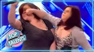 SHOCKING Angry Auditions From X Factor, Got Talent & Idols | Top Talents