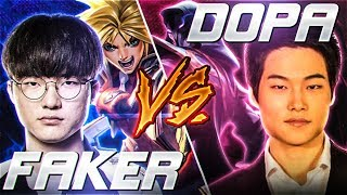 *DOPA TF vs FAKER* SEASON 9 battle of the MIDLANE GODS (Midbeast review)