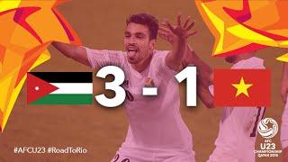 JORDAN vs VIETNAM: AFC U23 Championship (Group Stage)