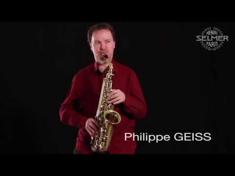 Henri SELMER Paris presents Philippe GEISS