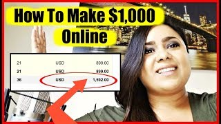 """How To Earn Money Online From Home """" How To Make Money Online Fast 2018"""