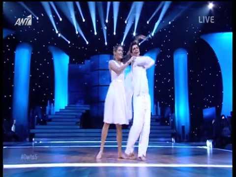 Χρήστος Σπανός Μαρία Αντιμισάρη Η εμφάνιση στο έβδομο live του Dancing With The Stars 5