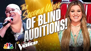 The Best Performances from the Second Week of the Blind Auditions | The Voice 2021