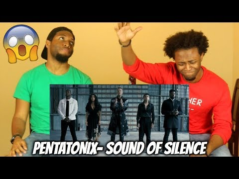 Sound of Silence - Pentatonix (BEST COVER EVER!!) REACTION!!