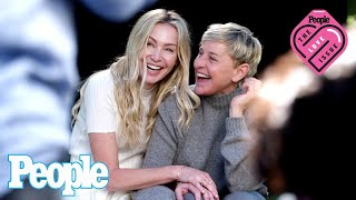 """Ellen DeGeneres and Portia de Rossi's Love Story: """"We're So Lucky to Have Each Other"""" 