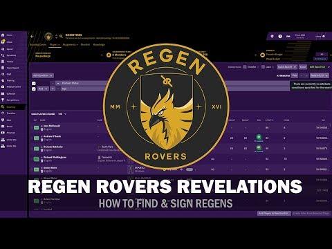 Regen Rovers Revelations #7 - How to Find & Sign Regens | Football Manager 2019