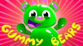 Mega Gummy Bear Song | Kids Songs | by Little Angel
